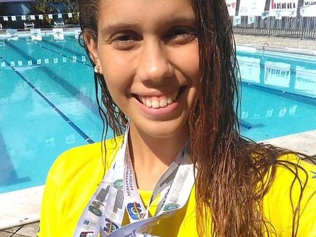 Carolline Gomes é ouro nos Jogos Universitários de Pernambuco