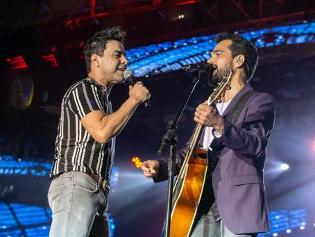 Zezé di Camargo & Luciano no Réveillon de Jaboatão