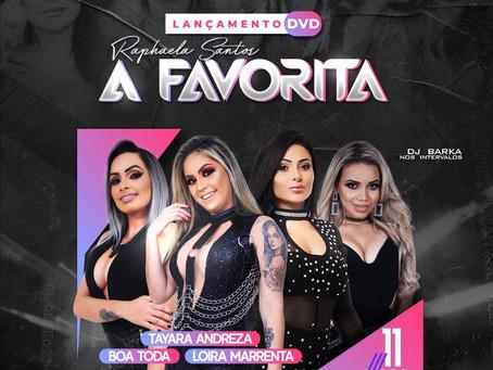 Banda A Favorita faz lançamento de DVD em Jaboatão