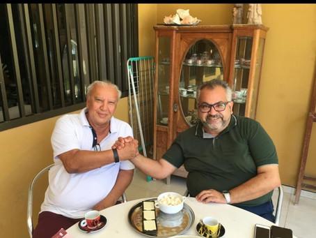 Fernando Gordinho e Paulo Bartolomeu discutem sucessão