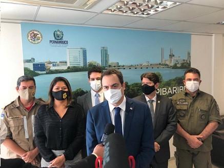 Governador anuncia convocação  de 1925 profissionais para a segurança em PE