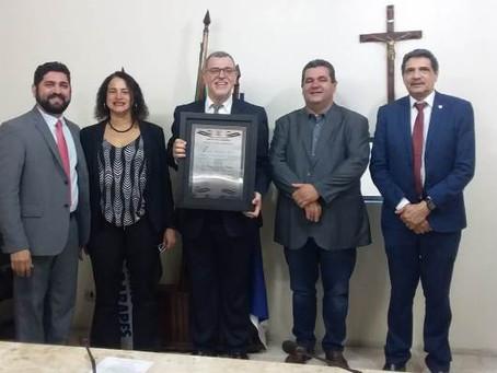 Presidente municipal do PCdoB recebe título de cidadão jaboatanense