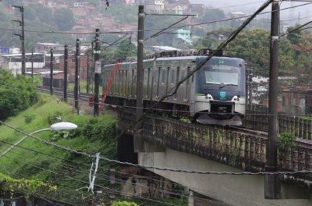 Manutenção preventiva irá paralisar parte do Metrô do Recife