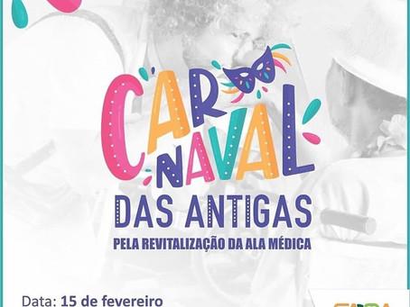 Abrigo Cristo Redentor promove Carnaval das Antigas