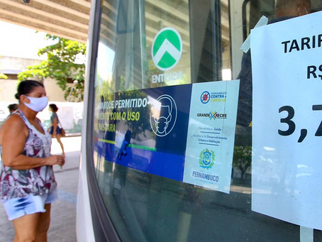 Reajuste do transporte público no Recife passa a valer a partir deste domingo (7)