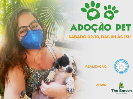 The Garden Promove evento de adoção pet