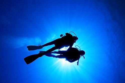 NAUI SCUBA Diver (Blue Water Rock Quarry Certification)