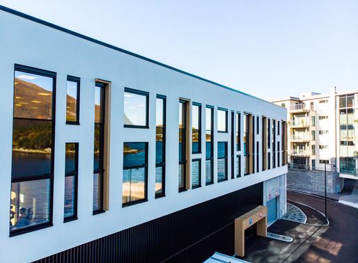 Nyinnflytta tenestehus i Brattvåg