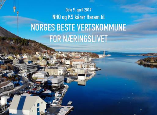 Norges Beste Vertskommune for Næringslivet