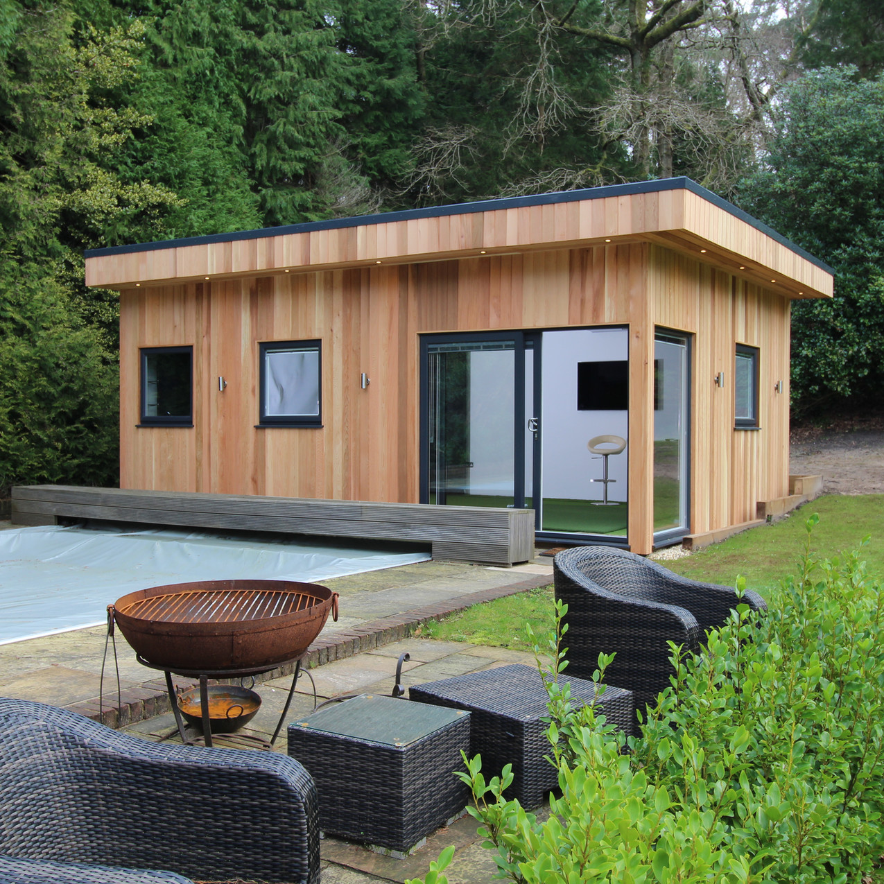 Bespoke Garden Room by Timber Rooms