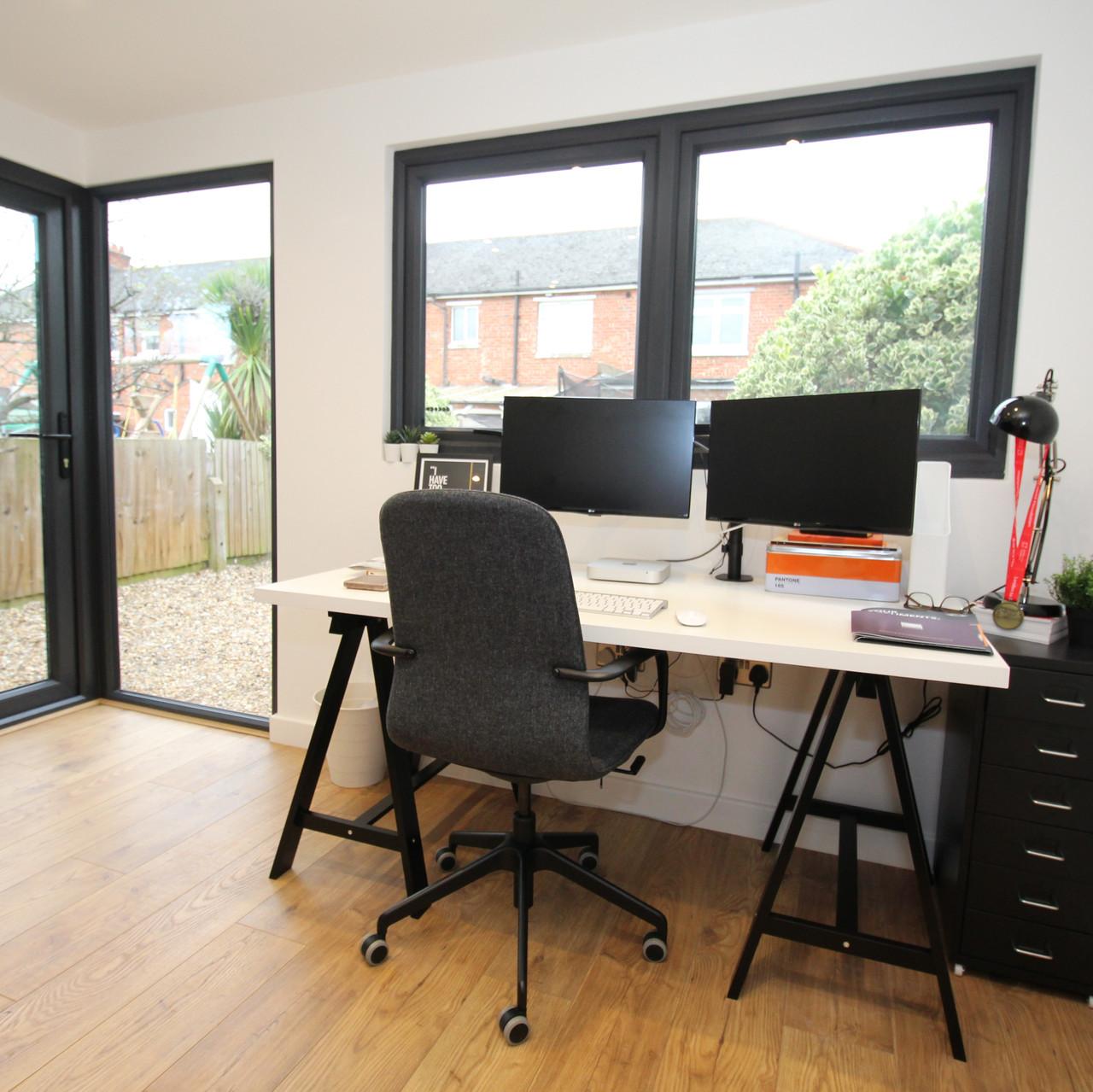 Internal Garden Room Office
