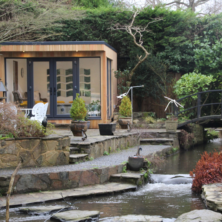 Larch Clad Bespoke Garden Room