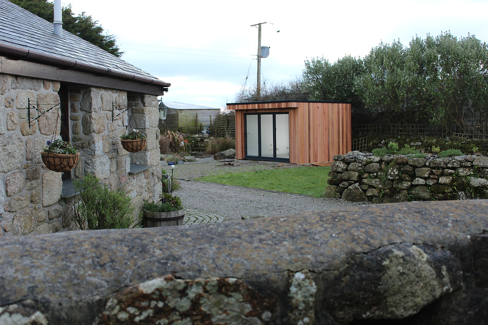 Garden Office Penznace Cornwall