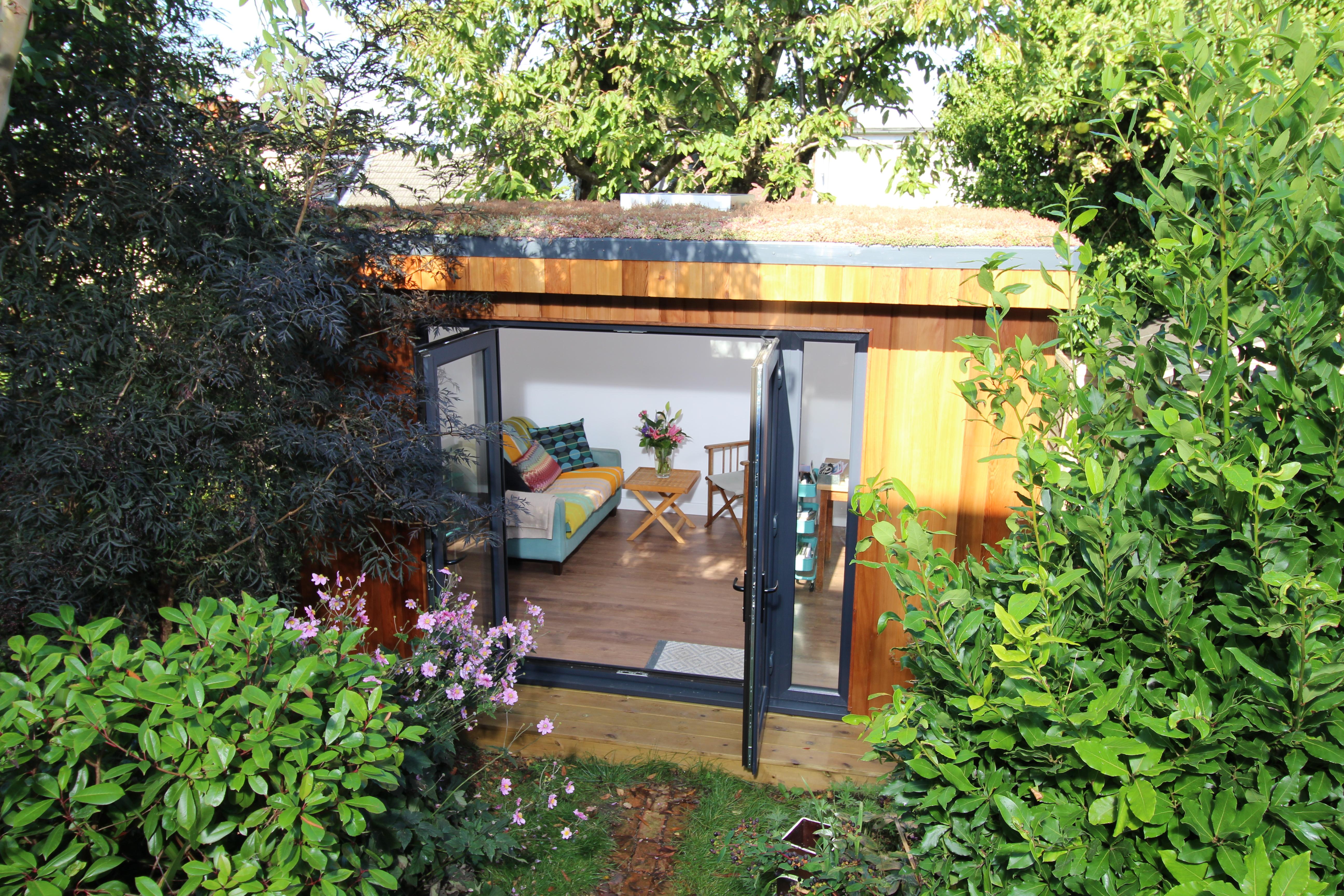 Garden Room with Sedum Roof