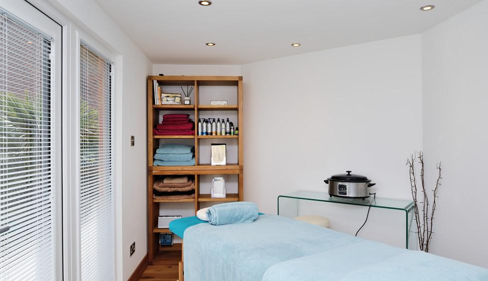 Unusual Shaped Treatment Room