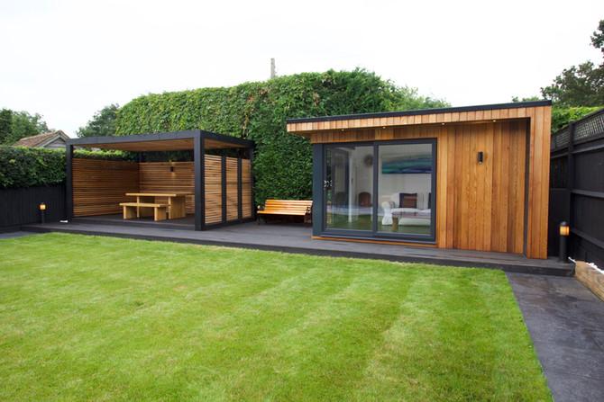 Garden Room and Pergola