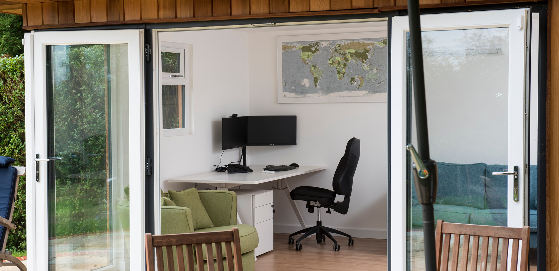Office and Garden Room