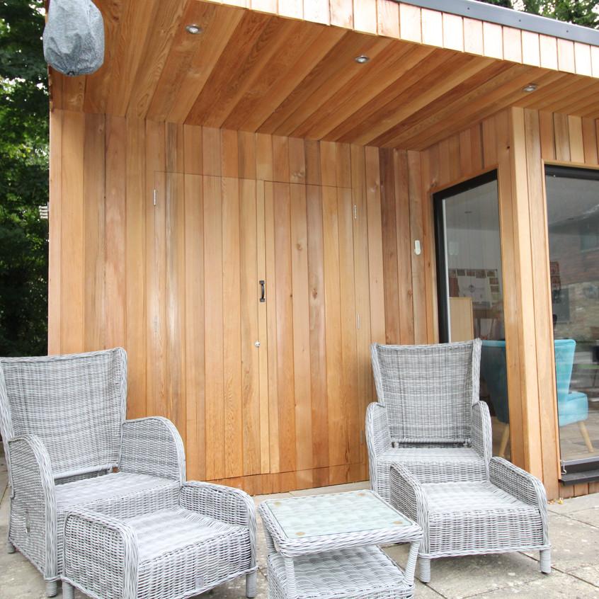 Hidden Store Room - Timber Rooms