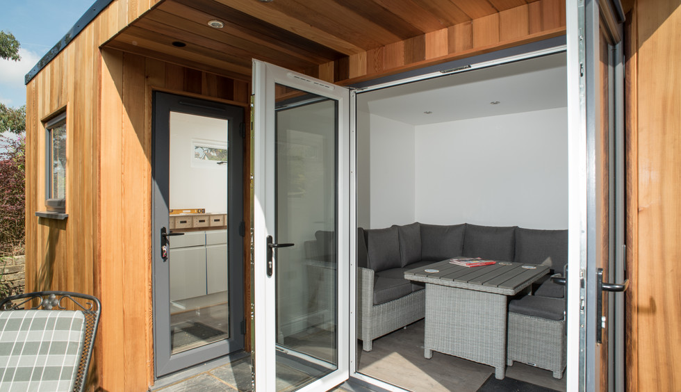 Living Room and Workshop