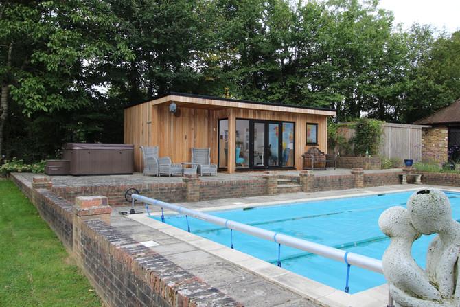 Pool Side Office