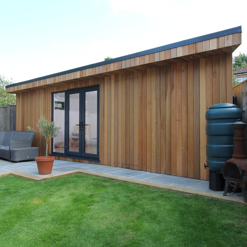 Cedar Clad Garden Room by Timber Rooms