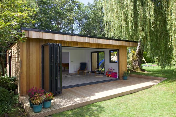 Large Multi Room Garden Retreat