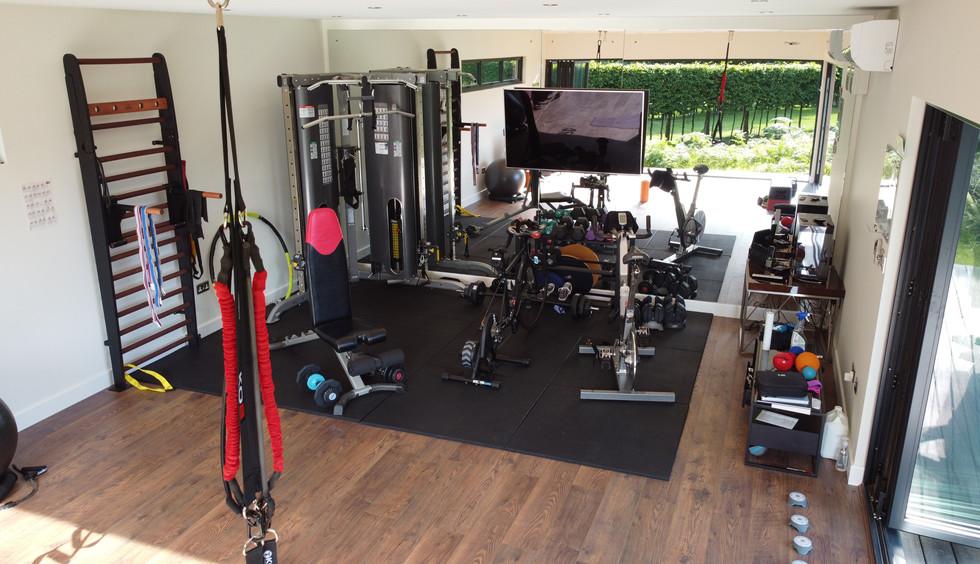 Gym Timber Rooms