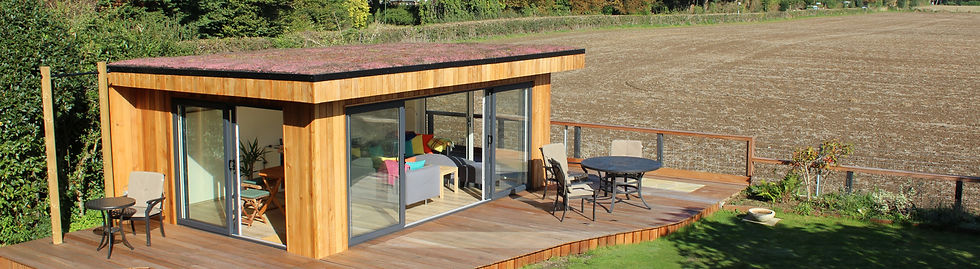 bespoke garden room from timber rooms
