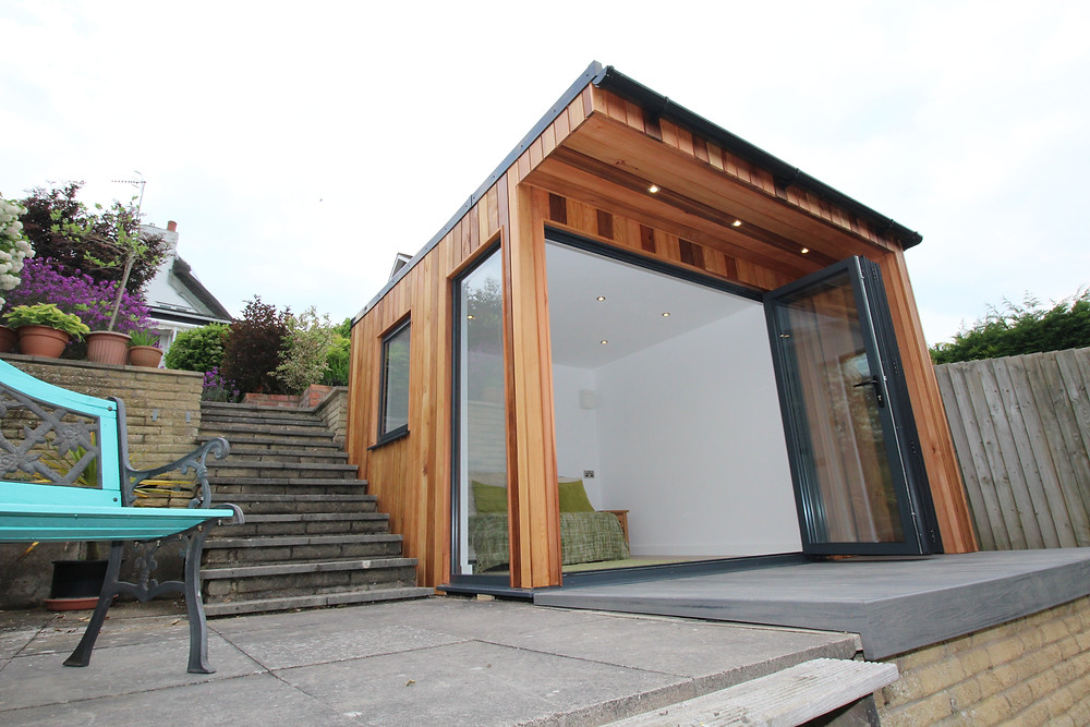 Cedar Clad Garden Room by Timber Rooms