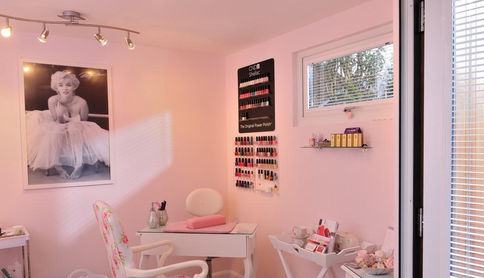 Pink Treatment Room