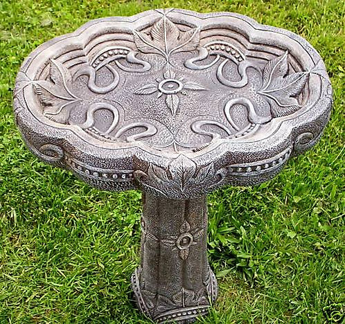 FANCY BIRDBATH (TOP ONLY)