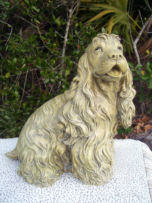 Think, that Cocker spaniel rubber latex mold