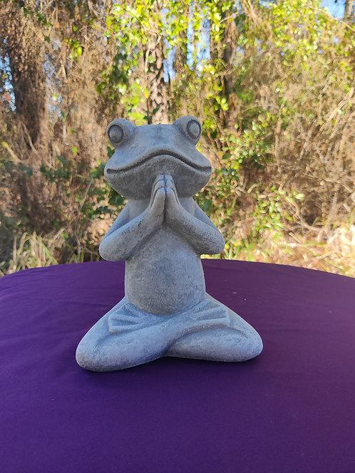 YOGA FROG ( PRAYER POSE )