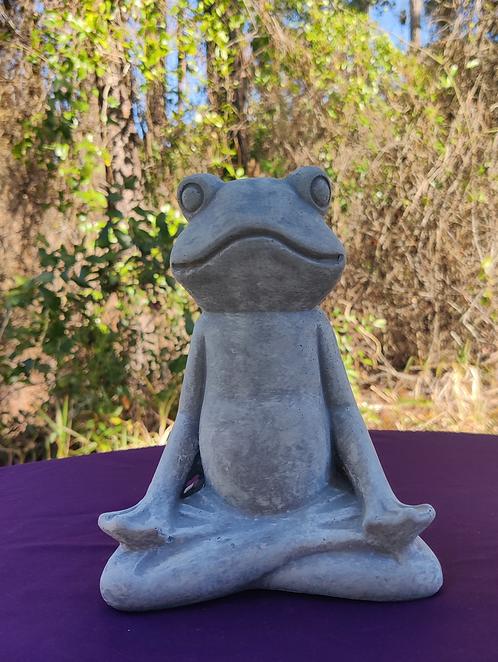 YOGA FROG ( MEDITATION POSE )