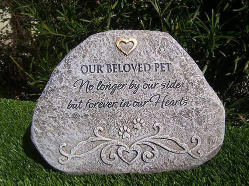 BELOVED PET MEMORIAL STONE