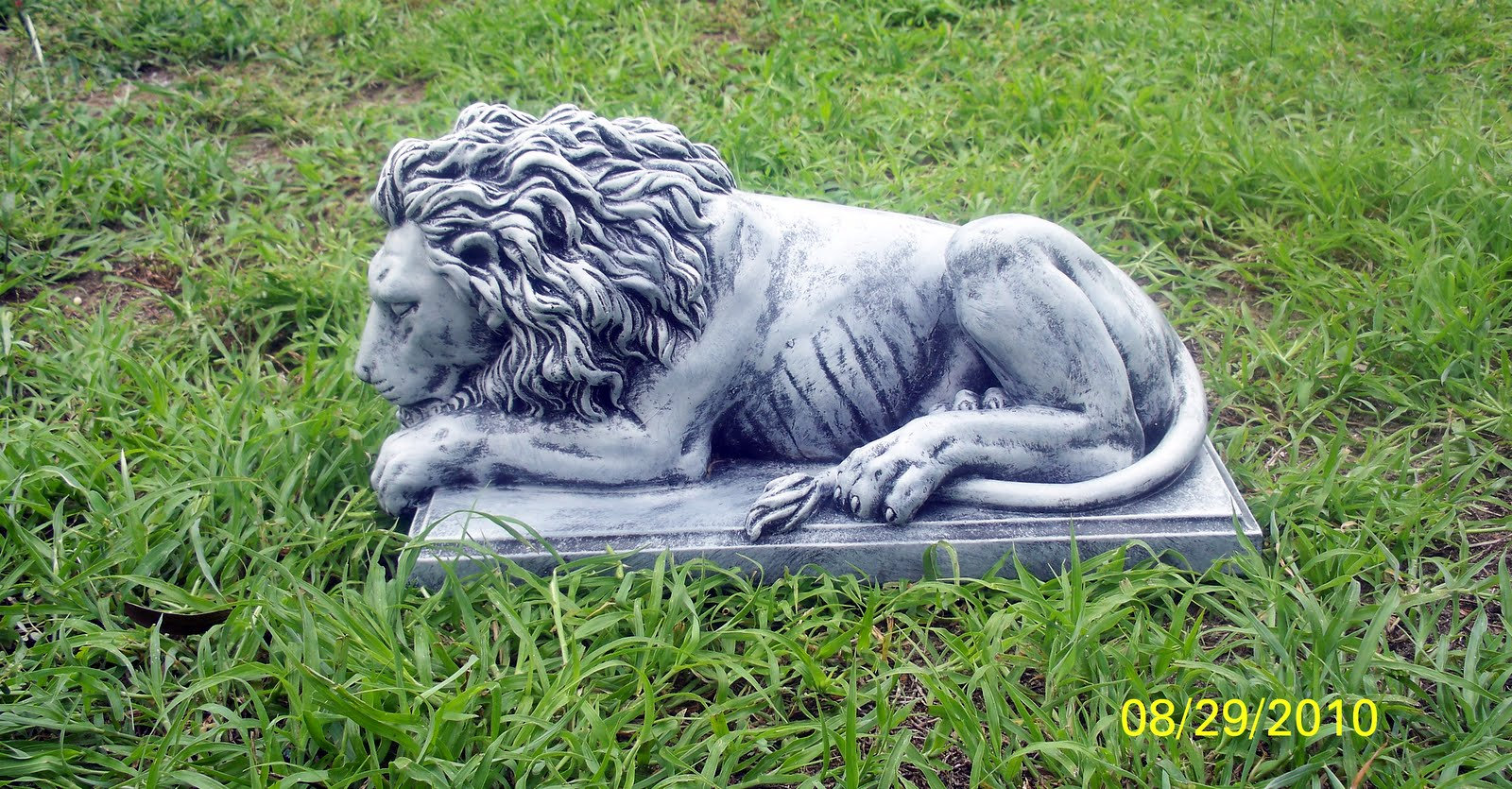 LAYING LION # 2 -FORWARD FACING