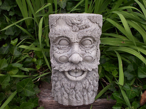 WOOD STUMP FACE