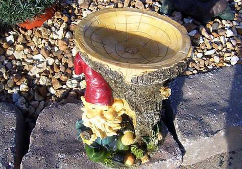 GNOME BIRD-FEEDER *