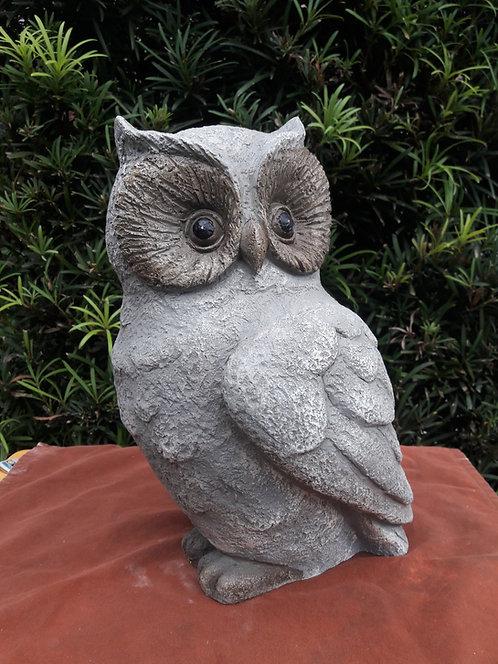 LARGE STONE OWL