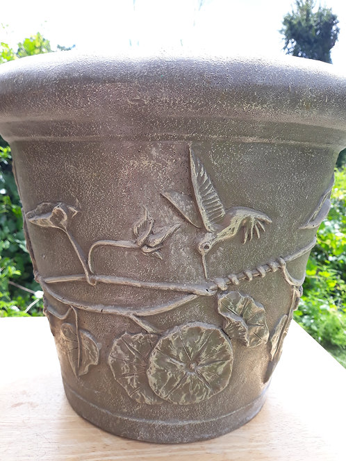 HUMMINGBIRD PLANTER