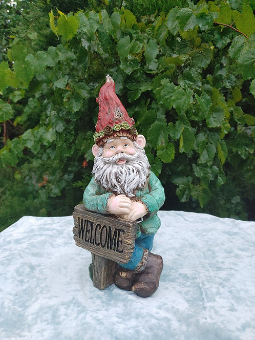 LARGE WELCOME GNOME
