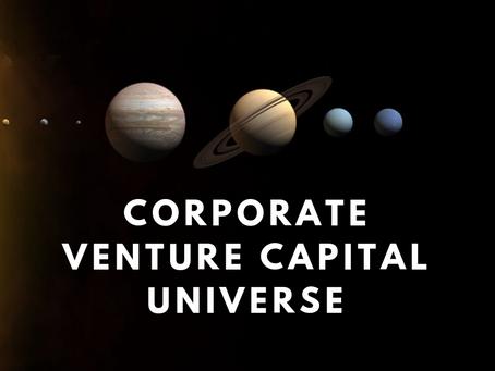 Corporate Venture Capital Universe