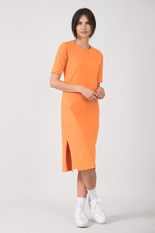 EYD - Dinata Short-Sleeved Dress (Orange)