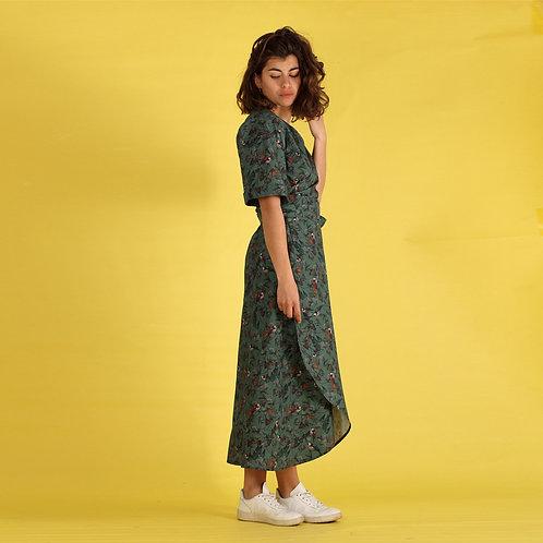 ManduTrap - Lilla Wrap Dress (Multicolor)