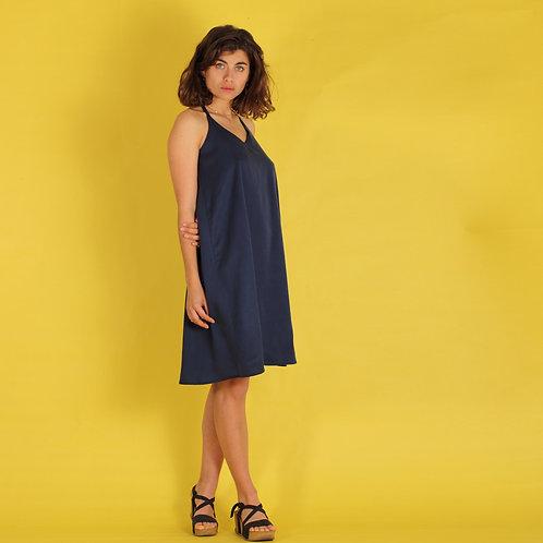 ManduTrap - Tamira Strap Dress (Dark Blue)
