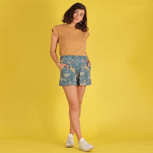 ManduTrap - Floralia Shorts (Blumenmuster)