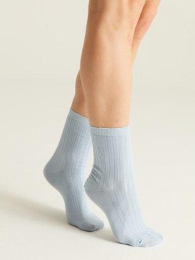 Woron - Organic Cotton Socks (Light Blue)