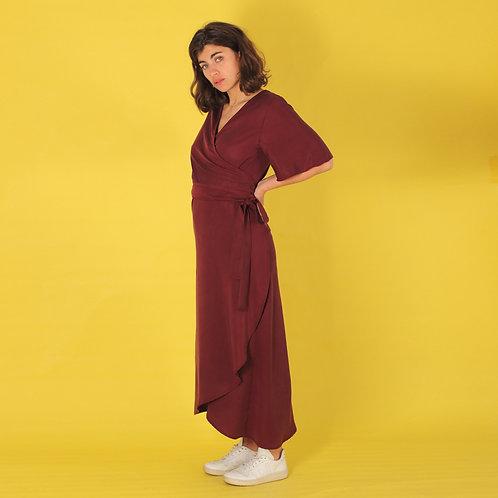 ManduTrap - Luma Wrap Dress (Violet)