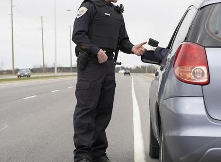 Comportement en cas de contrôle routier