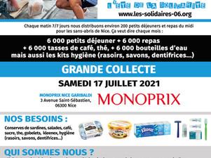 17 juillet - MONOPRIX COLLECTE